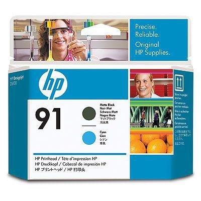 Głowica (Printhead) HP 91 matte black and cyan do Z6100 C9460A