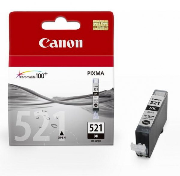Tusz Canon CLI-521BK Black 9ml