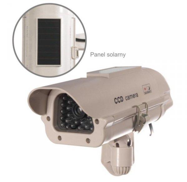 CEE Atrapa kamery Solarna migajaca LED SOL1500                                    W zestawie naklejka UW
