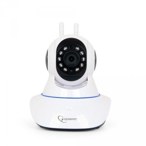 Gembird Kamera IP wewnętrzna 720p WiFi Smart obrotowa biała