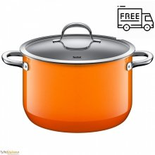 Garnek Silit Passion Orange – z pokrywka 24 cm-6.4 L