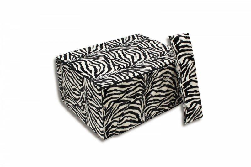 FOTEL RELAX KANAPA 2 W 1 - Zebra