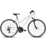 Rower Kross Evado 1.0 28 biały-turkusowy