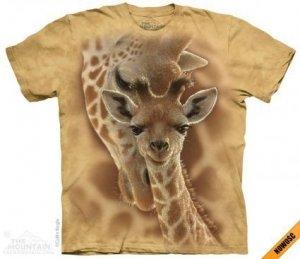 Koszulka dziecięca The Mountain Newborn Giraffe 15-4272