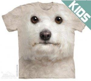 Koszulka dziecięca THE MOUNTAIN BICHON FRISE FACE 15-3519