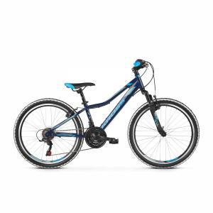 Rower Kross Hexagon Junior 24 granatowy-stalowy-niebieski 2021