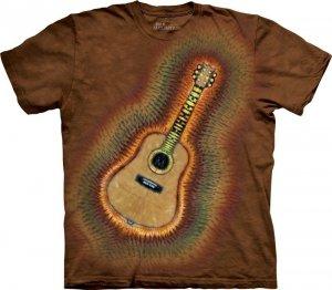 T-Shirt - Koszulka Acoustic Tie Dye The Mountain 10-3230