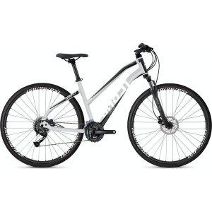 Rower Ghost Square 1.8 W srebrno - biało  - czarny