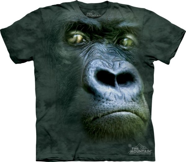 Koszulka THE MOUNTAIN SILVERBACK PORTRAIT 10-3100