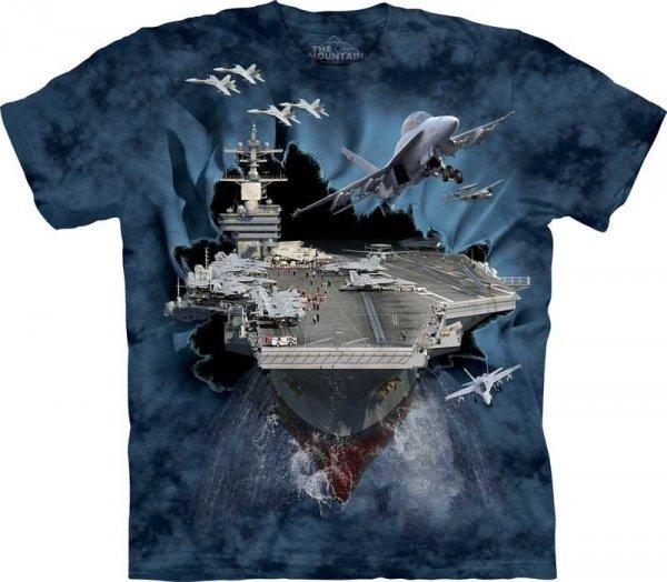 Koszulka dziecięca THE MOUNTAIN AIRCRAFT CARRI 15-8263