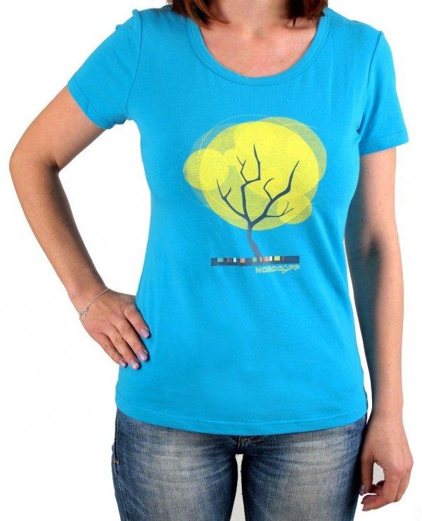Koszulka damska Nordcapp Tree