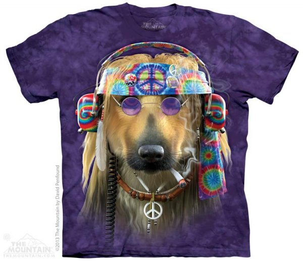KOSZULKA T-SHIRT THE MOUNTAIN PEACE DOG 10-3747