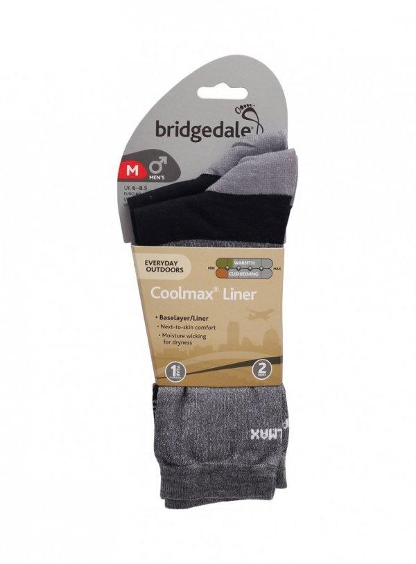 Skarpety męskie Bridgedale Coolmax Liner