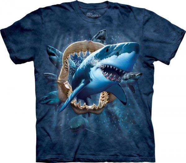 T-Shirt - Koszulka Shark Attack The Mountain 10-2287