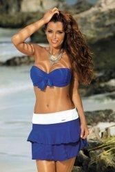 Spódniczka Mila Blu Persia-Bianco M-334 (24)