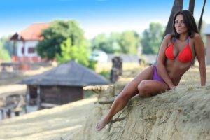Kostium kąpielowy Primavera Bikini czerwony