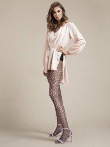Rajstopy Claudia Black-Pink 20 DEN