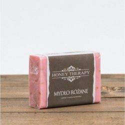Mydło różane z miodem kostka 100 g