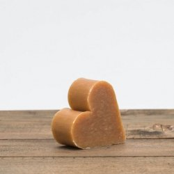 Mydło miodowo - propolisowe serce 75g