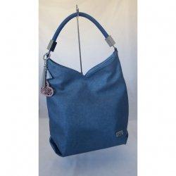 Urocza torebka w kolorze niebieskim CHIARA