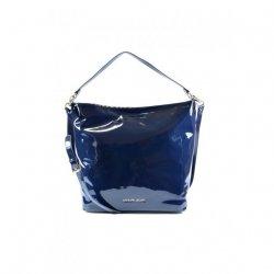 Duża luksusowa granatowa torba Armani Jeans