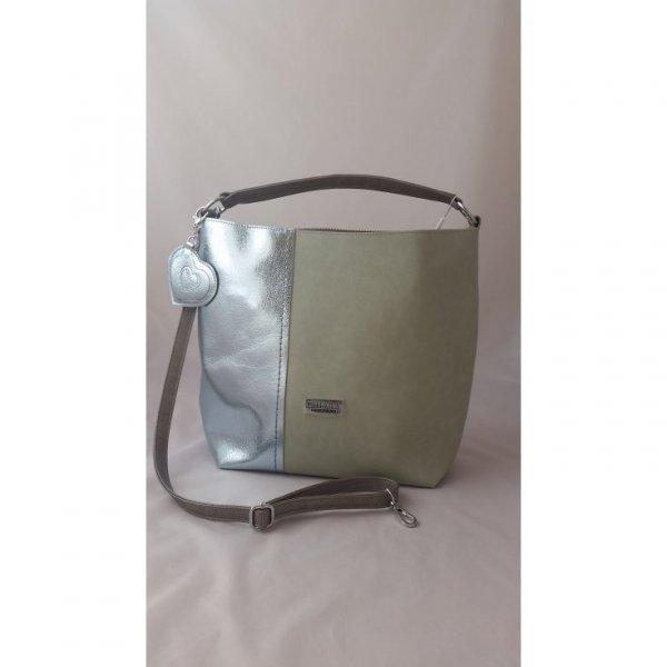 Duża efektowna torebka na ramię CHIARA