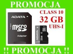 ADATA Karta Micro SDHC 32GB CLASS 10 UHS-I +ADAPT