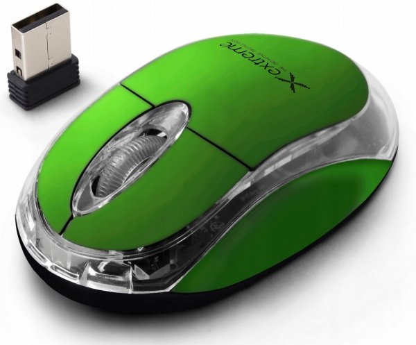 EXTREME MYSZ BEZPRZ. 2.4GHZ 3D OPT. USB HARRIER KOLOROWE