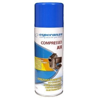 Sprężone powietrze ESPERANZA 400ml + RURKA