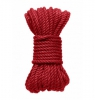 Kink Hogtied Bind & Tie 6mm Red Hemp Bondage Rope 30 Feet
