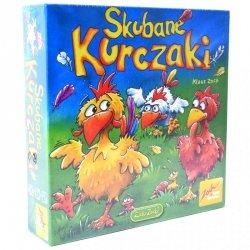 Gra Planszowa Pamięciowa Skubane Kurczaki ZOCH Dla Dzieci 4 Graczy