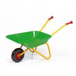 Rolly Toys Metalowa Taczka Ogrodowa Budowlana Zielona