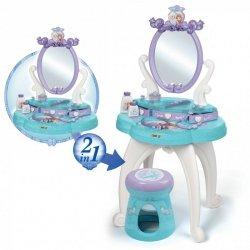 Smoby Toaletka Frozen 2 w 1 bezpieczne lustro Księżniczki taborecik