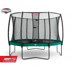 BERG Trampolina Champion 270 cm Deluxe Twinspring Gold