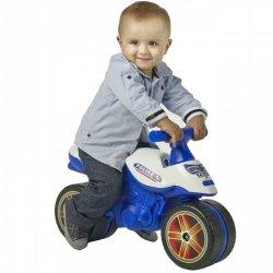 Falk Motor Jeździk Pchacz Rowerek Policyjny dla Dzieci 1-3l