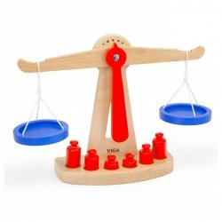 Drewniana Waga sklepowa równoważna Viga Toys