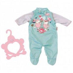 Pajacyk w kolorze niebieskim dla lalki Baby Annabell