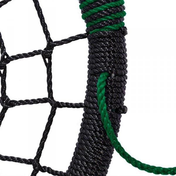 Huśtawka Bocianie Gniazdo Oval Zielona do 150kg