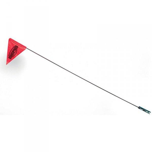 BERG Czerwona flaga na maszcie