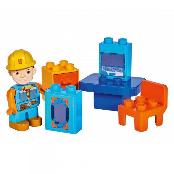 KLocki Bob Budowniczy biuro 10 elem z Figurką