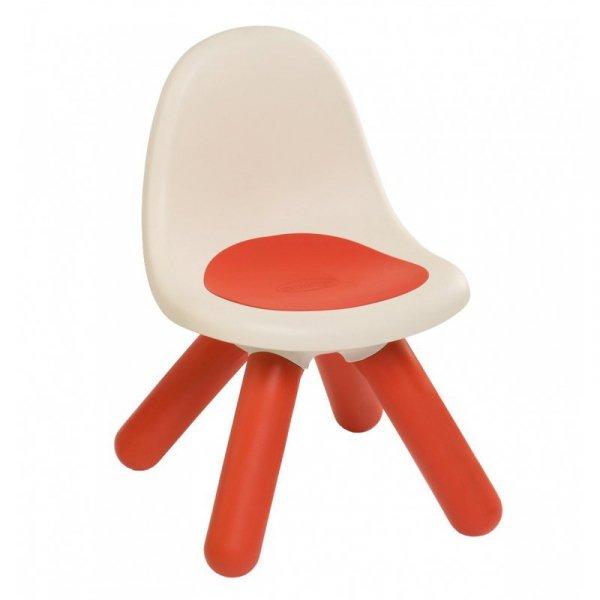 Krzesełko z oparciem Smoby w kolorze czerwonym