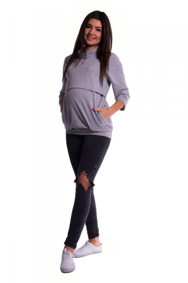 Bluza dresowa ciążowa