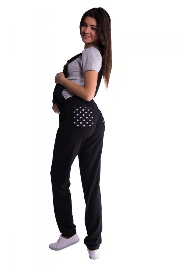 Spodnie ogrodniczki ciążowe