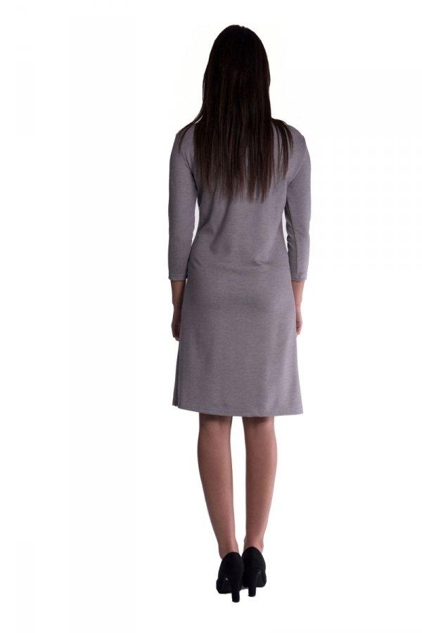 Sukienka ciążowa z zakładką 3457