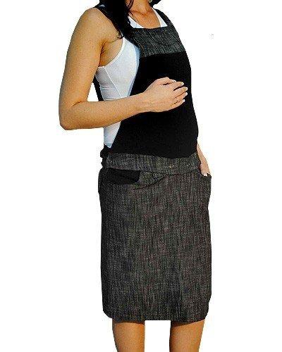 Spódnica ciążowa ogrodniczka 2 w 1,  0777
