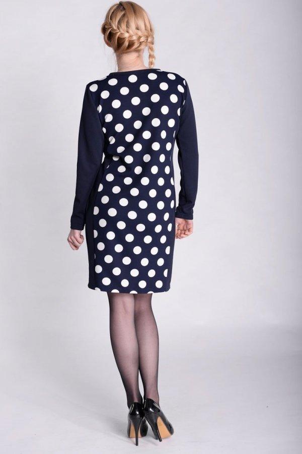 Sukienka ciążowa w grochy 2399