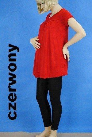 Letnia marszczona wiskozowa tunika ciążowa 21 3211
