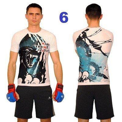 Koszulka Rashguard do walk MMA