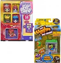 LITTLEST PET SHOP AUTOMAT Z 5 FIGURKI DOMEK PASKUDNIAK
