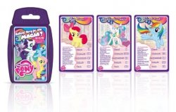 TOP TRUMPS MY LITTLE PONY KUCYKI GRA KARCIANA
